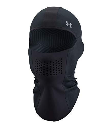 Under Armour Women's No Breaks ColdGear Infrared Balaclava, Black/Black, One Size