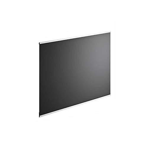 Cr/édence en verre de 5mm d/épaisseur 60x45cm noir