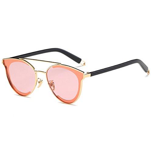 NIFG de 136 138 Lunettes colorées réfléchissantes soleil soleil de lunettes unisexe E 51mm wrBwq