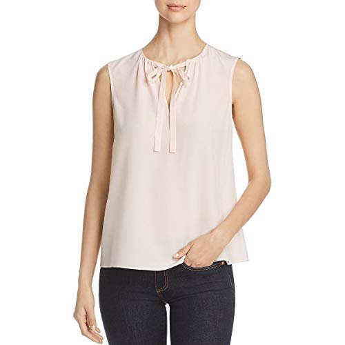 Tory Burch Womens Jess Silk Sleeveless Blouse