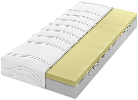 Dunlopillo Home 3400 - Colchón de Espuma de Poliuretano con 7 Zonas, H2, 100 x 190 cm