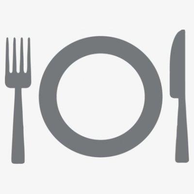 Sudadera con capucha de mujer Restaurant Food Logo by Shirtcity Blanco