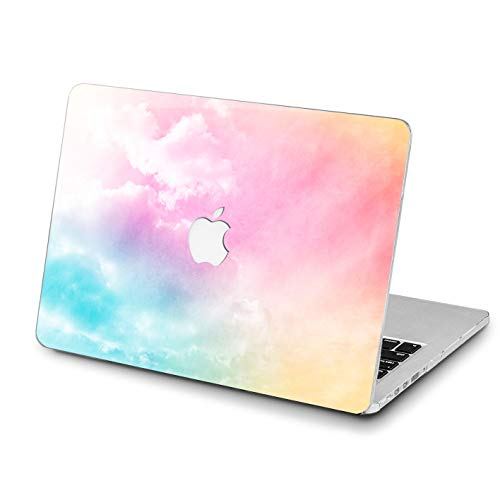 Lex Altern MacBook Purple Pro 15 inches Air 13 Abstract Case 12 11 Rainbow Mac 2018 A1707 A1706 A1989 Retina Pink Cover Iridescent Hard Shell Apple Sky 2017 Clear 2016 Plastic Protective Girl Women]()