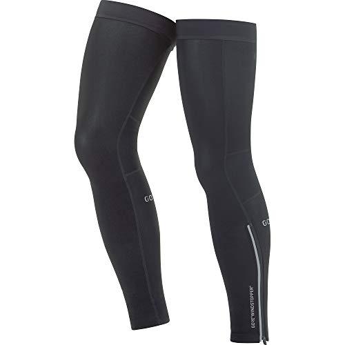 GORE WEAR C3 Unisex Leg Warmers GORE WINDSTOPPER, Size: L, Color: ()