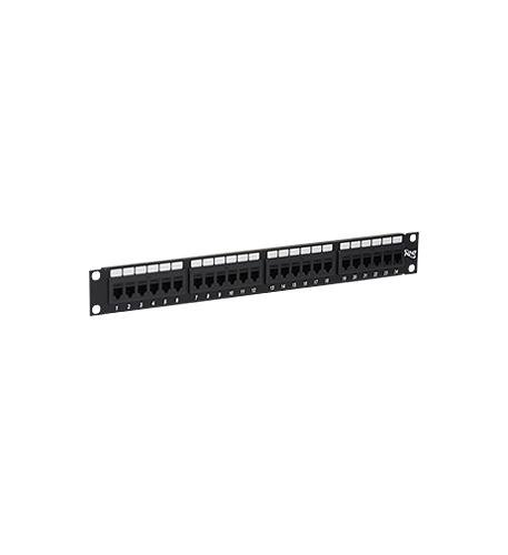 ICC Patch Panel,CAT 6, Feed-Thru 24-P,1Rms by ICC (Image #1)