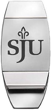 Two-Toned Money Clip LXG Saint Johns University