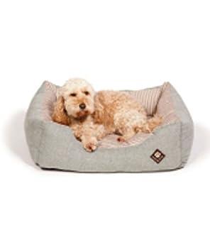 "Danish Diseño Marítimo Verde Snuggle cama perro 34 "" ..."