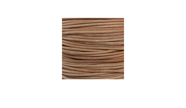 Quality 4 mm Solid Leather Cord     A Grade