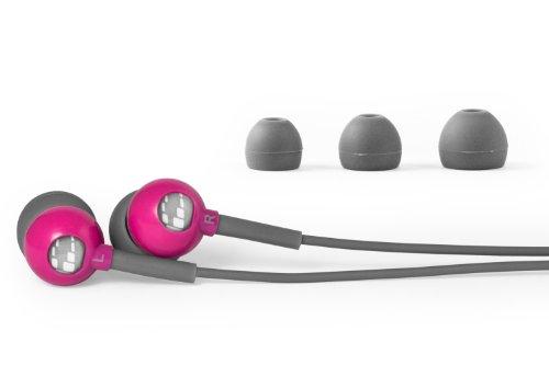 (H2O Audio CB1-PK Flex All Sport Waterproof In-Ear Headphones (Power Pink))