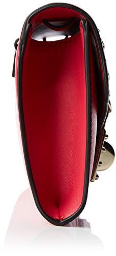 X Tracolla Prisma Guess L Cm 23x13x4 Donna Clutch Nero A Borsa H w red RzS6wz