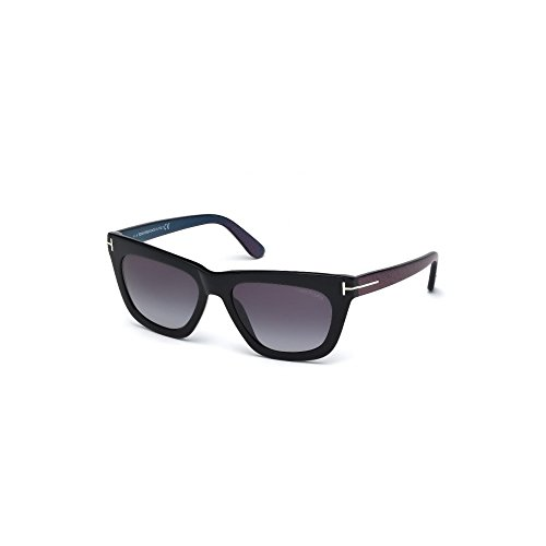 Sunglasses Tom Ford TF 361-F FT0361-F 01A shiny black / - Sunglasses Asian Fit For Women