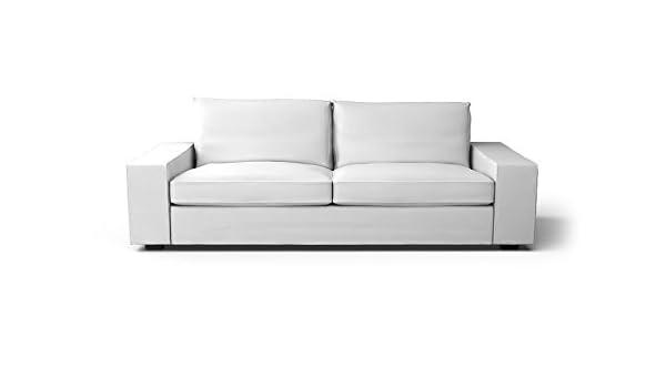 Fantastic Amazon Com Custom Made Slipcovers For Kivik Sofa Bed White Evergreenethics Interior Chair Design Evergreenethicsorg