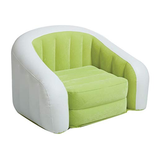 Customized Good Quality PVC Cheap Flocked Inflatable air Sofa by SEADOSHOPPING (Image #3)