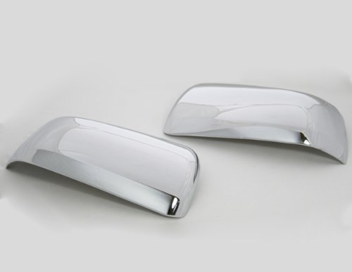 Mitsubishi Galant Door Mirror (Triple Chrome Side Door Mirror Cover Trims Moulding for 08-11 Mitsubishi Lancer JDM Galant Fortis Evolution X 07-11 Lancer Fortis 2007 2008 2009 2010 2011 Brand NEW On Sale with 3m Adhesive Tape)