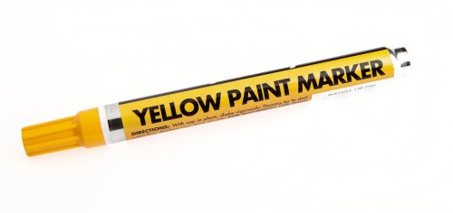 Forney 70822 Marker, Paint, Yellow ()