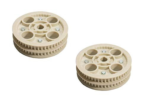 (Rotary 2 Pack 13754 Timing Belt Pulley Fits Stiga 1134-3679-02)
