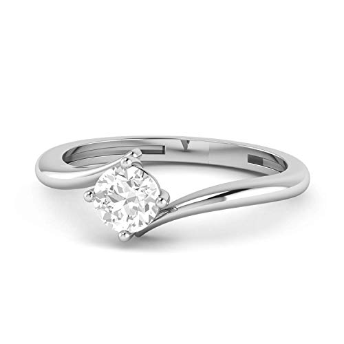 1.45 CT EGL Certified, Natural Round Diamond with 950 PLATINUM, classic 4-prong solitair Engagment Ring, promise Birdal wedding ring - Round 1.45 Ct Diamond
