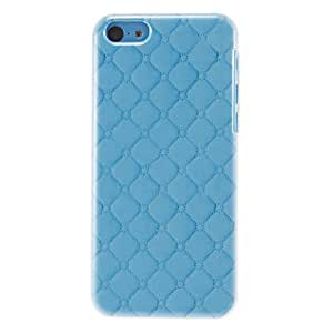 YULIN Special Grid Pattern Hard Case for iPhone 5C (Assorted Colors) , Purple