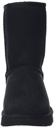 UGG Women's Classic Short II Winter Boot, Black, 8 B US by UGG (Image #4)