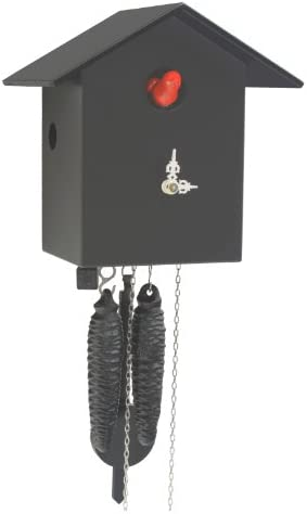 German Cuckoo Clock 1-day-movement Modern-Art-Style 7.10 inch – Authentic black forest cuckoo clock by Rombach Haas