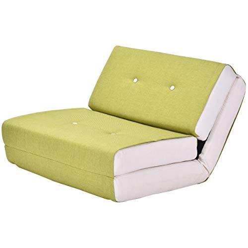 Sofá cama plegable abatible, Sentado o para Dormir, este mueble esta confeccionado en Tejido de algodón, muy comodo.