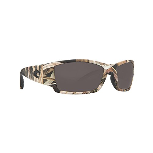 Costa Del Mar Corbina Sunglasses, Mossy Oak Shadow Grass Blades Camo, Gray 580P - Corbina Costa Camo