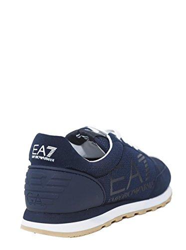 Taglia 248048 Armani EA7 Blu Sneakers Emporio 45 Scarpe IT EA US Sport 11 1 Unisex Logo 7 Running 3 RwCX7yxq