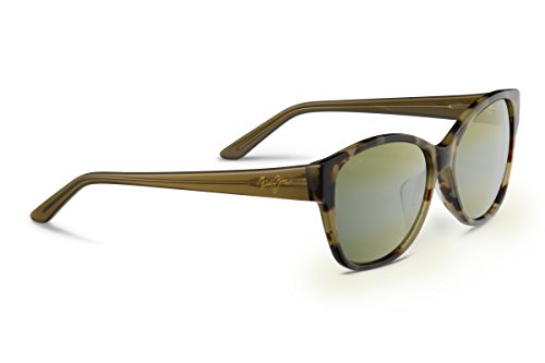 Maui Jim Summer Time Polarized Sunglasses - Women's Olive Tokyo Tortoise / Maui HT One Size by Maui