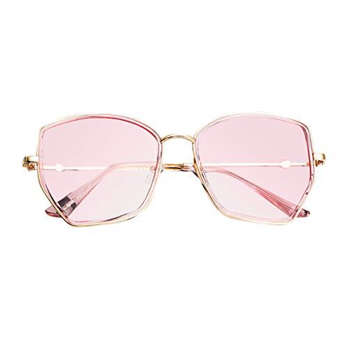 Yucode Unisex Stylish Square Polarized Square Sunglasses Non-Prescription Blue Light Blocking Glasses Sunglasses