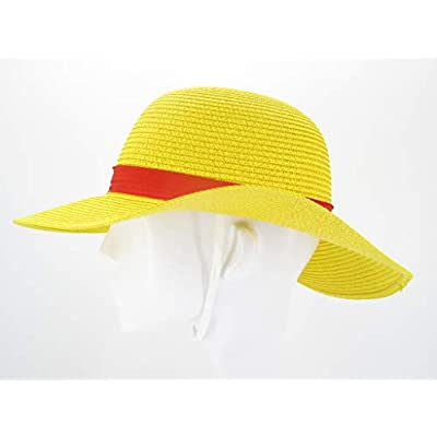 Yarizm Straw Hat Cosplay Costume (Yellow): Clothing