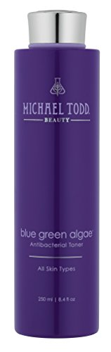 Basics Blue Lavender Shampoo - Michael Todd Blue Green Algae Balancing Toner with Calming Minerals and Fortifying Nutrients, 8.4 Fl Oz