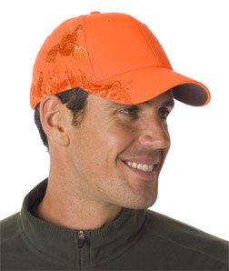 Dri Duck 3200 Wildlife Series Brushed Cotton Cap, Blaze Quail & Blaze Orange Ladies Blaze Mesh Jacket