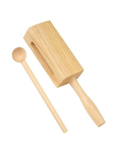 Wood Block With Wooden Mallet - ab Kids -130 ab drums ab Kids-130
