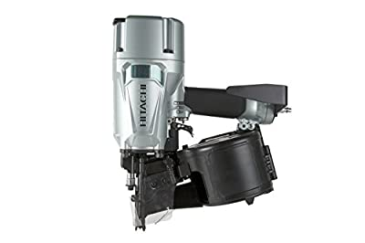 "Hitachi NV83A5 Coil Framing Nailer with Rafter Hook, 3-1/4"" from Hitachi"