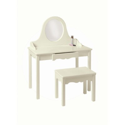 Little Colorado Vanity and Bench Set, Linen by Little Colorado