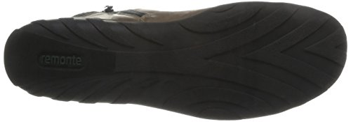 RemonteR3456 25 - Botas Mujer Marrón - Marron (Marron Combiné)