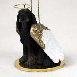 Gordon Setter Angel Dog Ornament