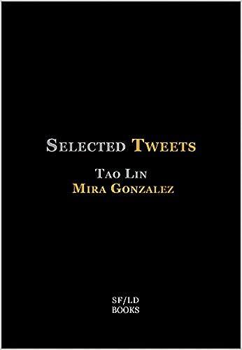 Amazon selected tweets 9780989695022 mira gonzalez tao amazon selected tweets 9780989695022 mira gonzalez tao lin books fandeluxe Gallery