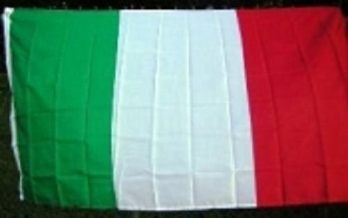 5X8 Embroidered Sewn Nylon Italy Flag 5'X8' by Decorative Flag