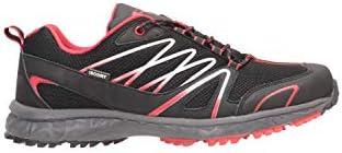 Mountain Warehouse Baskets Enhance pour Hommes imperméables - Chaussures pour Hommes décontractées Respirantes, Souples, Confortables, durables - pour Un Usage Quotidien Noir 40