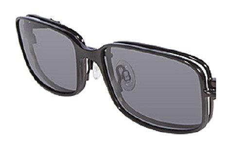 Flexon Flx 897Mgc-Clip Eyeglasses 001 Black Chrome Demo 52mm - CLIP ONLY