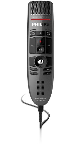 Philips LFH-3500 SpeechMike Premium USB dictation microphone by Philips