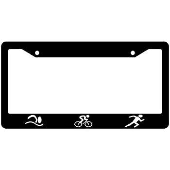 Amazon.com: Sticker Connection | Triathlon | License Plate