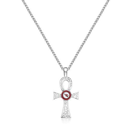 Pro Specialties Group NFL Arizona Cardinals Key of Life Necklace ()
