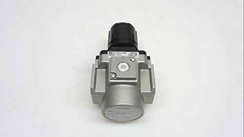 - SMC AR40K-F04 Regulator, Relieving Type, with Backflow Function, 7.25 - 123 psi Set Pressure Range, 106 scfm, No Gauge, 1/2
