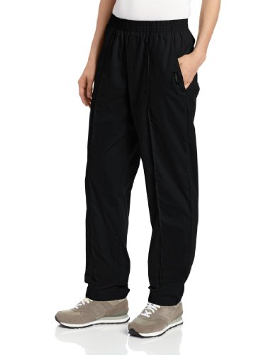 Landau Women's Comfortable 2-Pocket Classic Fit Medical Scrub Pant Uniform, Black, Large ()