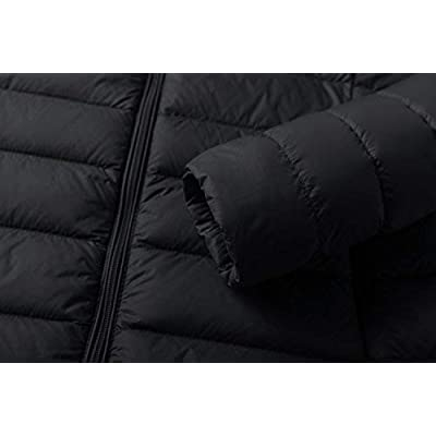 Wantdo Women's Packable Ultra Light Weight Short Down Jacket: Clothing
