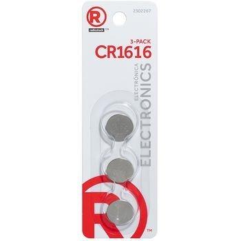 Radioshack 3V CR1616  3 Pack by RadioShack. Cr 1616   Compare Prices at Nextag