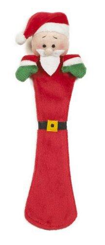 Holiday Santa Plush Bookmark - Ganz Holiday Page Pals Bookmark