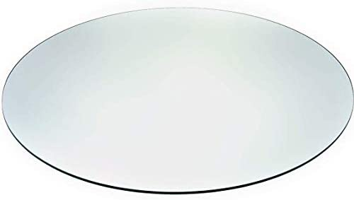 Tempered Glass Table Top with Rounded Edge 36